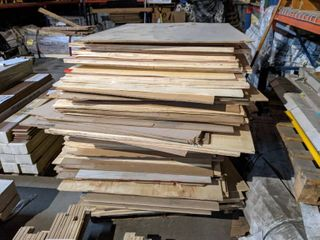 ASSORTED 4 X4  PlYWOOD AND MDF BOARDS
