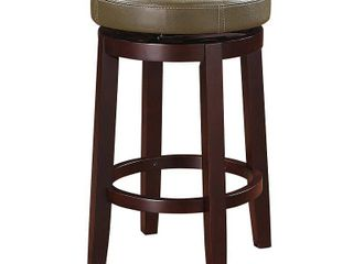 linon Maya 24 in  Stool  Green