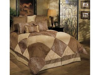 PCHF Safari Park 8 piece King Comforter Set  Retail 367 63