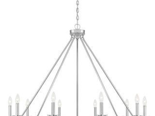 Savoy House Middleton   Ten light Chandelier Polished Nickel Finish Retail 850 00