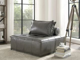 Art leon Modern Square Modular Sectional Sofa Dark Grey 1 Piece