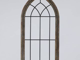 Wood and Metal Cathedral Wall Decor  Retail 77 98