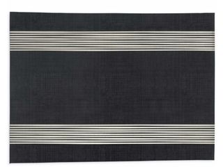 Band Black  amp  White Kitchen Mat  95 in  x 30 in