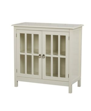 Simple living Portland Glass Door Cabinet  Retail 163 49