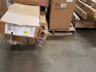 Pallet of Miscellaneous Incomplete and or Damaged Items