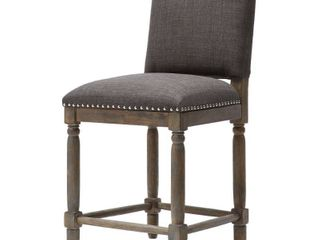 Madison Park Parque Grey Cirue Counter Stool