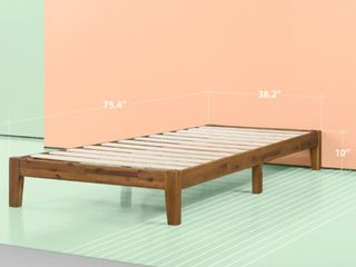 Zinus lucinda 10 Inch Wood Platform Bed Twin
