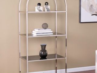 Silver Orchid lennox Transitional Silver Shelf  Retail   509 49