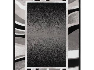 Global Rug Design loma  Black Area Rug
