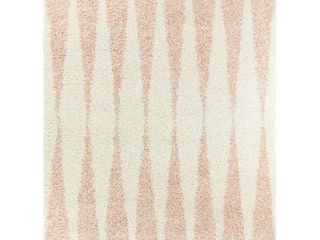 BAlTA Andreja Pink 5 ft  x 7 ft  Area Rug