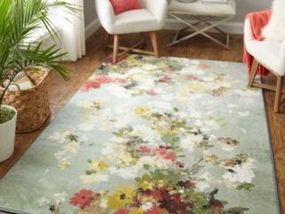 Mohawk Home Merging Floral Area Rug 8ft x 10ft