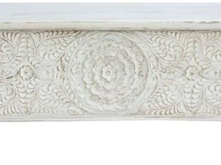 Mod Arte Angelo Trunk Coffee Table White  Retail   999