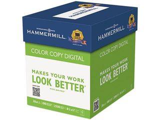 Hammermill Color Copy Digital Paper  100 Brightness  28 lb   White  500 Per Ream