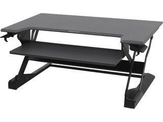 Ergotron WorkFit Tl  Sit Stand Desktop Workstation  Black  33 406 085