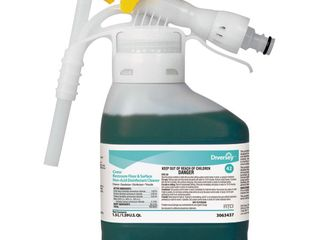 DIVERSEY 3063437 Bathroom Cleaner Fresh Green