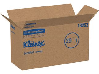 Kleenex Scottfold White Multi Fold Paper Towels  3 000 Towels  KCC13253