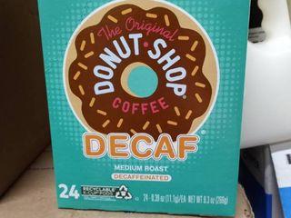 The Original Donut Shop Decaf  K Cup Pods  Medium Roast  24 Count For Keurig Brewers