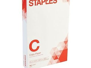 Staples 8 5  in X 14 in Copy Paper 20 lbs 92 Brightness 500 rm  127035 08635 0