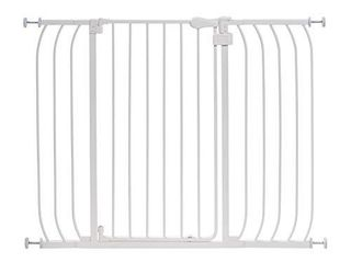 Summer Multi Use Extra Tall Walk Thru Baby Gate  Metal  White Finish 36 Tall  Fits Openings up to 29 to 48 Wide  Baby and Pet Gate for Doorways and Stairways