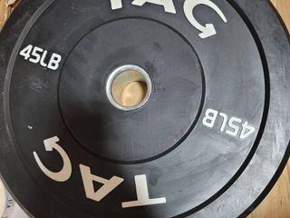single 45lb plate