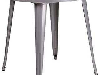 Flash Furniture 30  Round Metal Indoor Outdoor Table  Multiple Colors