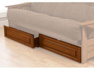 Kodiak Furniture Full Size Barbados Futon Drawer Set