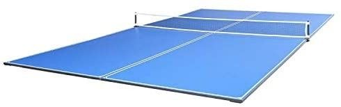 JOOlA Tetra   4 Piece Ping Pong Table Top for Pool Table   Includes Ping Pong Net Set   Full Size Table Tennis Conversion Top for Billiard Tables