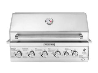 KitchenAid 6 Burner Stainless Steel Gas Grill 740 0781   Silver  1099