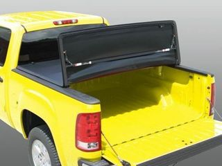 Rugged liner E3 CS694 E Series Tri Fold Tonneau Cover for S10 Sonoma 6  Bed