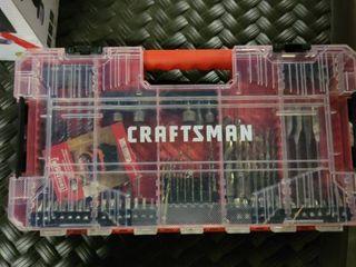 CRAFTSMAN 85 Piece Steel Shank Screwdriver Bit Set