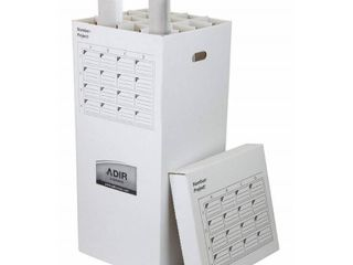 lot of 2 Adir 37 in  Storage File with 16 Compartments