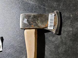 Trumper steel ax handle is broke