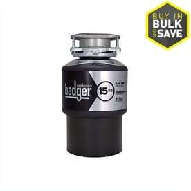 InSinkErator Badger 3 4 HP Garbage Disposal  looks like it has been hooked up and removed