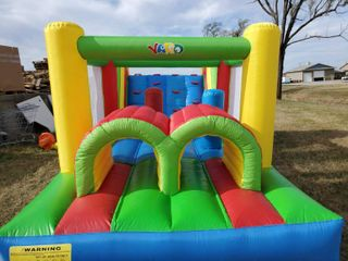inflatable kids outdoor play area