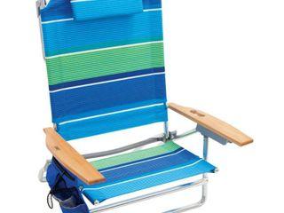 RIO Beach Big Kahuna Beach Chair   Stripe  MISSING Cap