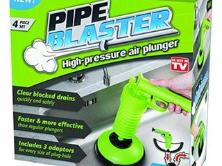 Trisales Marketing 260922 Pipe Blaster High Pressure Air Plunger