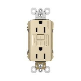 lot of 3  Pass   Seymour legrand 3 Pack 125 Volt 15 Amp Ivory Decorator Gfci Electrical Outlet