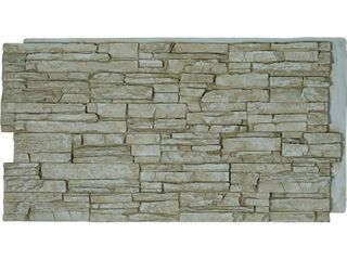 Canyon Ridge Stacked Stone  StoneWall Faux Stone Siding Panel  Retail 95 99