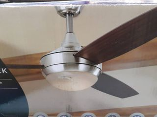 Harbor Breeze Beach Creek 52  Brushed Nickel Ceiling Fan 0883810
