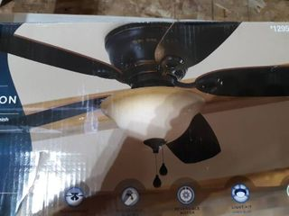 Harbor Canton Oil Rubbed Bronze Finish Ceiling Fan 52 inch