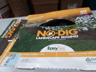 lot of 3  1 of 60  and 2 of 20  Dimex 3000  60 Easyflex No dig landscape Edging Kit Black  60  length