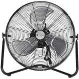 Utilitech 20 in 3 Speed Indoor Black Powder Painting Personal Fan RETAIl  44 98