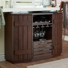 furniture of America cole rustic 47 inch distressed walnut