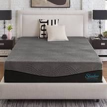 slumber solutions active 14 inch charcoal king