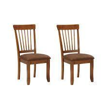 Berringer Dining Room Chair   Set of 2   Rustic Brown  Retail 156 87 brown
