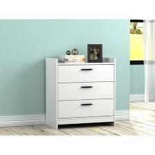 central park dresser white 3 drawer chest