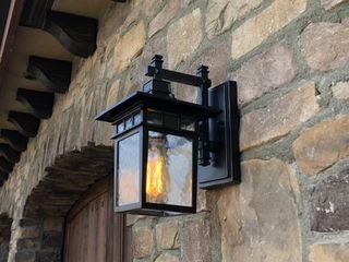 AA Warehousing Cullen El727SBl Outdoor Wall light