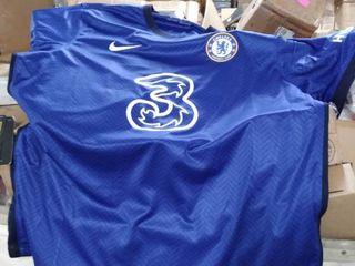 nike breathe Chelsea football shirt blue