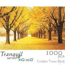 jigsaw puzzle1000 pc golden trees