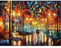 jigsaw puzzle rainey night walk 1000 pcs